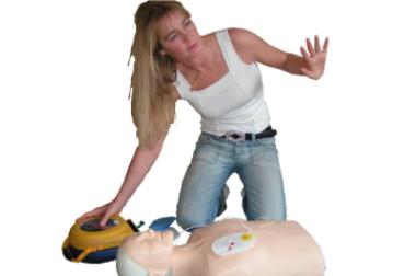 Basis førstehjælpskursus, førstehjælp ved hjertestop