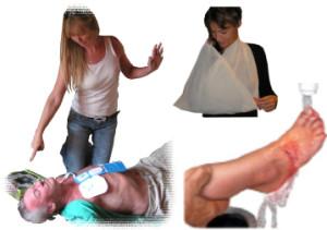 Førstehjælpskursus med foksu også sygdom og tilskadekomst